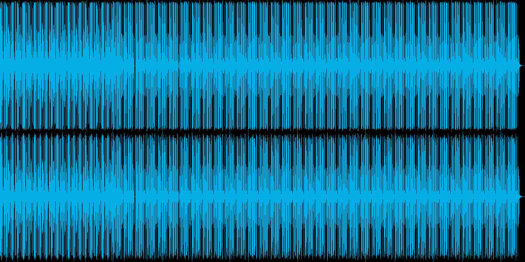 【ピアノ抜き】ピアノとドラム主体のテクノの再生済みの波形