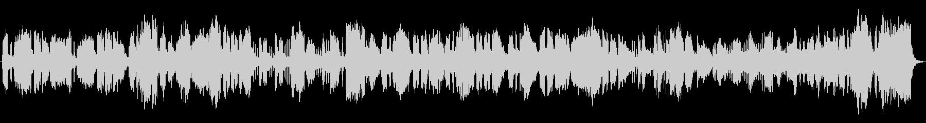 チェンバロがインパクトのあるクラシカル曲の未再生の波形