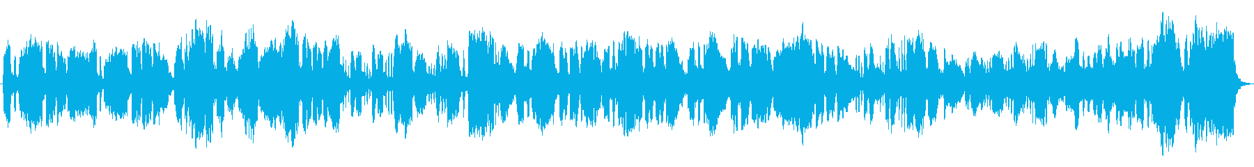 チェンバロがインパクトのあるクラシカル曲の再生済みの波形