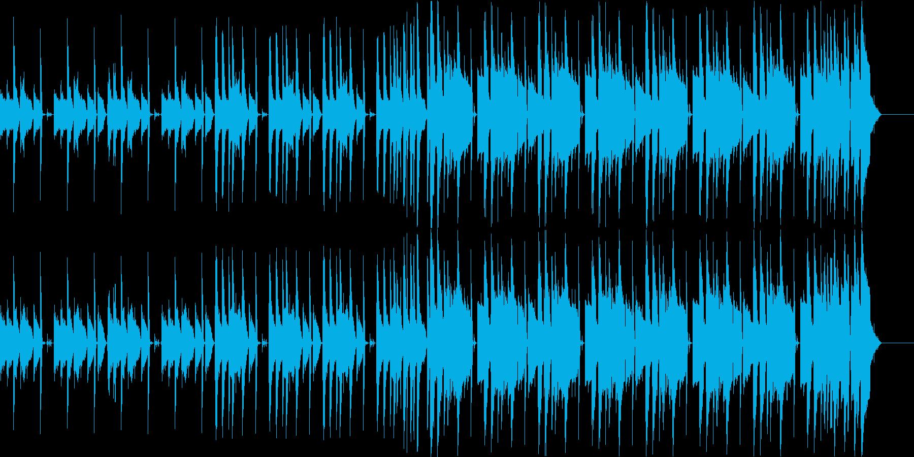 ピアノとボイスが印象的なHIPHOPの再生済みの波形