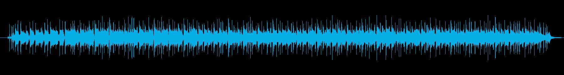 さわやかなのエレキギターフュージョンの再生済みの波形
