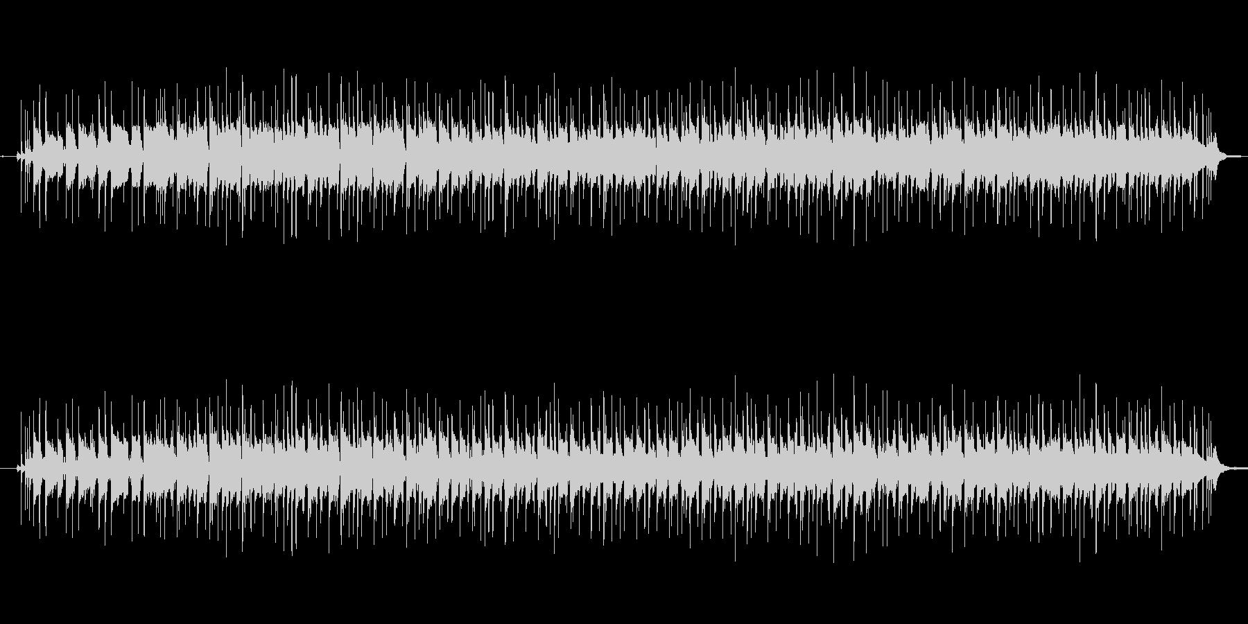 さわやかなのエレキギターフュージョンの未再生の波形
