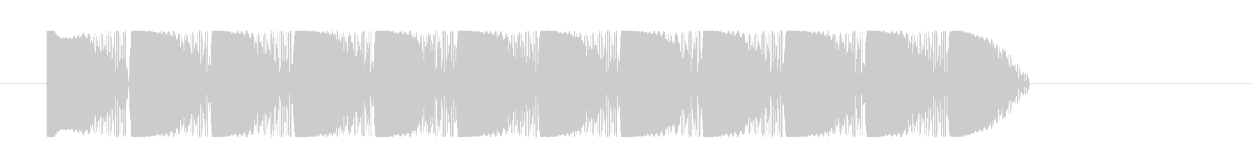 ビーム効果音 レーザー 連射 ピュピュの未再生の波形