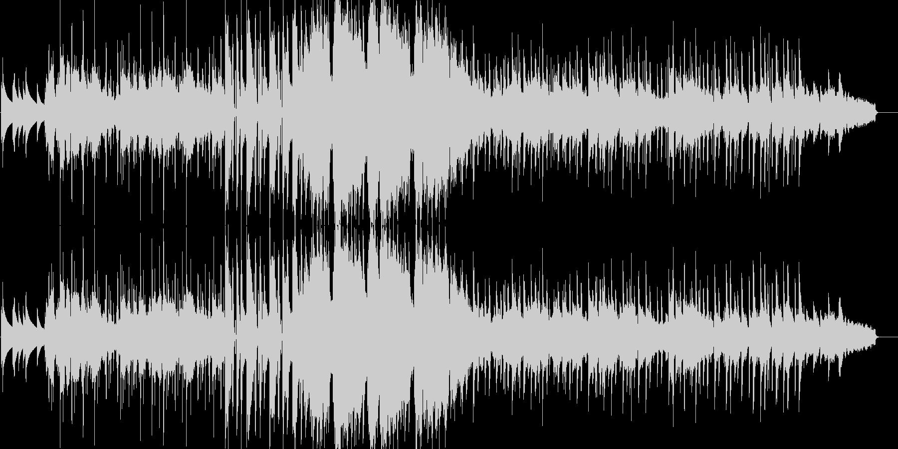 本物サックスであたたかく優しいサウンド曲の未再生の波形