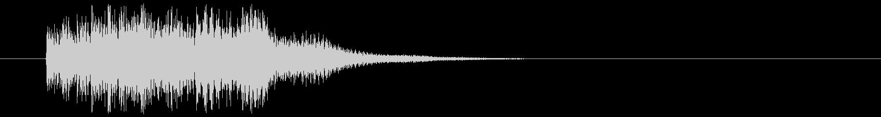和風_場面展開の未再生の波形