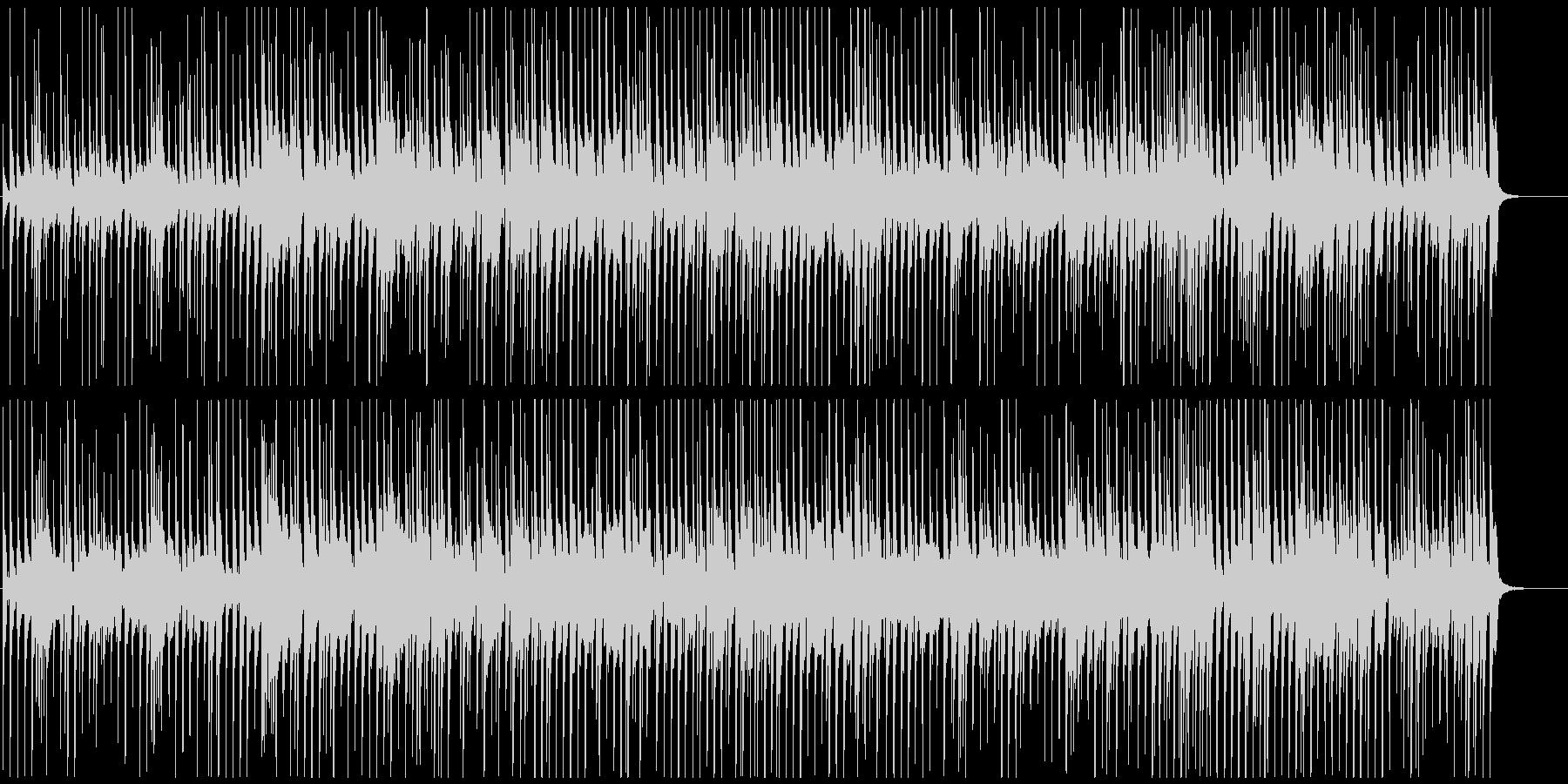 かわいいポップ登場マーチ ほのぼの楽しいの未再生の波形
