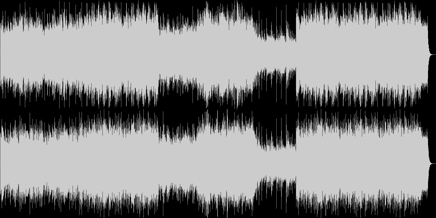 笛を主に使った軽やかなリラックスできる曲の未再生の波形