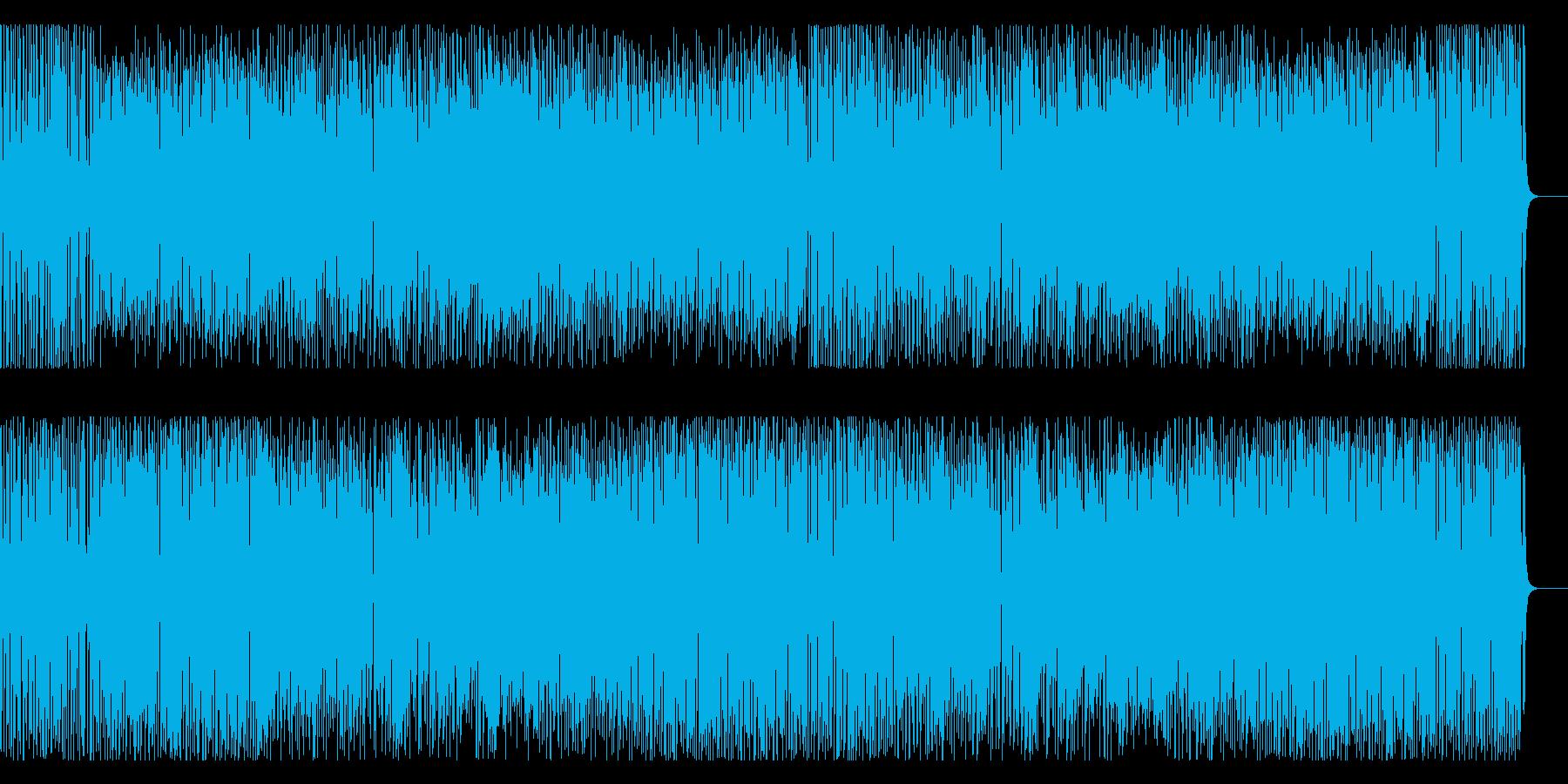 楽しい 軽快 情報 CM 元気 いきいきの再生済みの波形