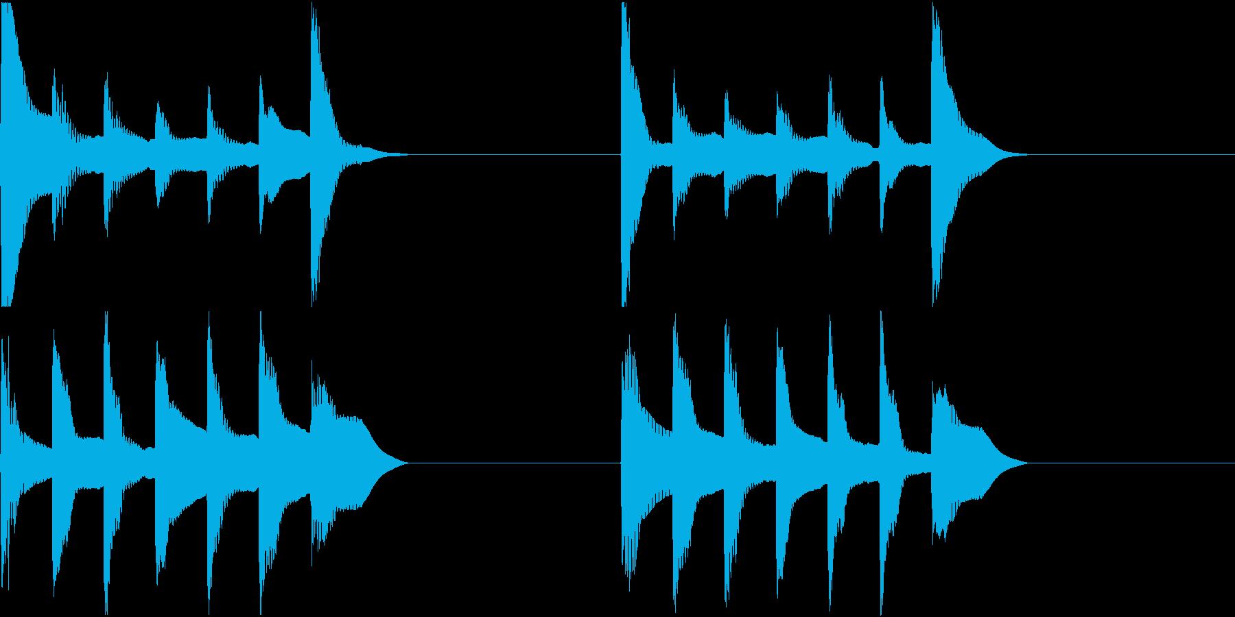 着信音 ループ お知らせ 通知 5の再生済みの波形