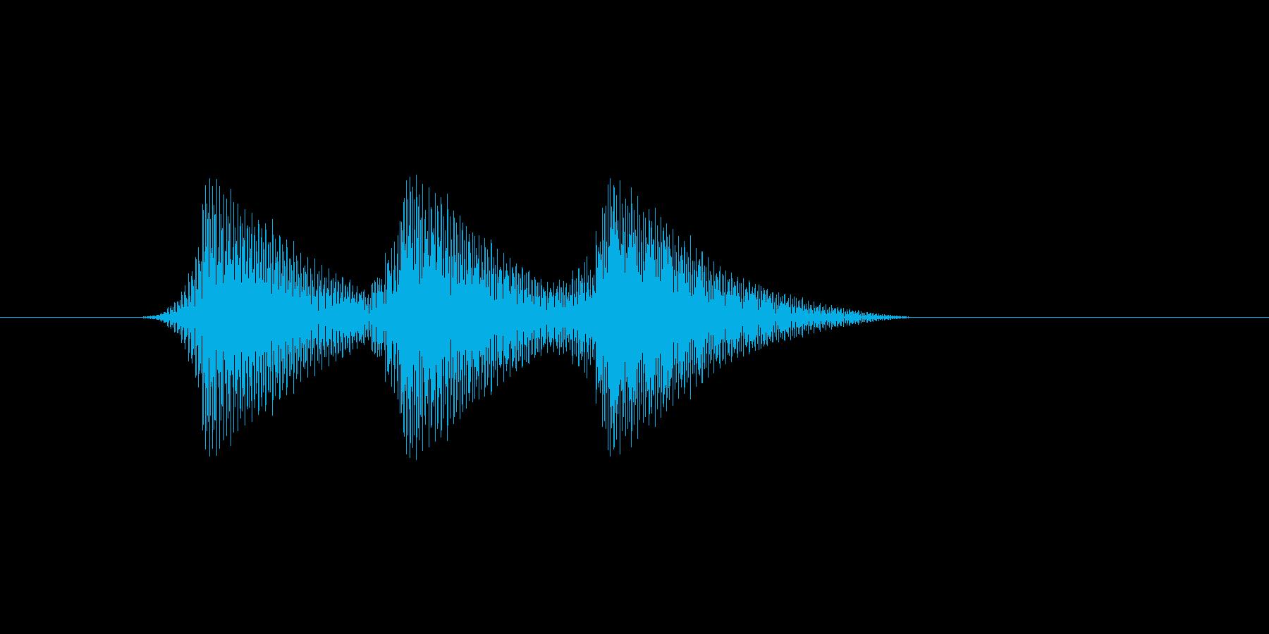 ファミコン風効果音 決定音系です 29の再生済みの波形