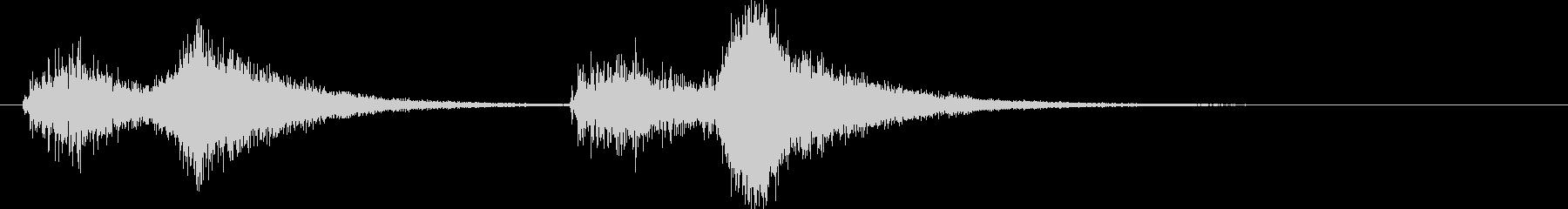 オーケストラでジャジャン ジャジャン1の未再生の波形