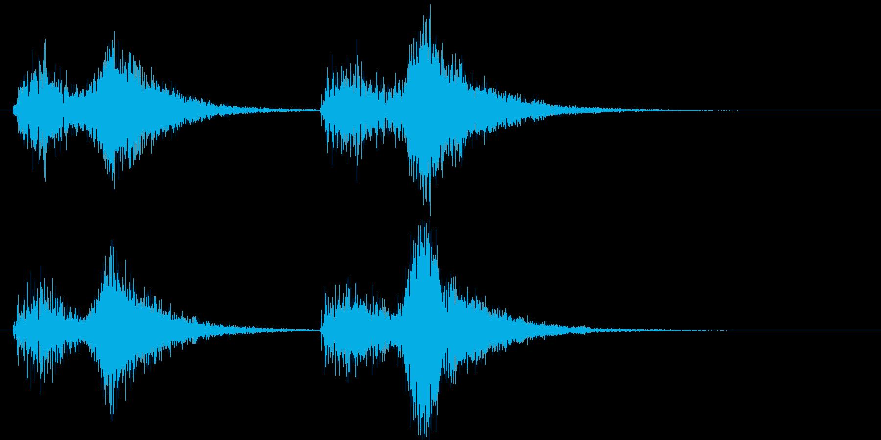 オーケストラでジャジャン ジャジャン1の再生済みの波形