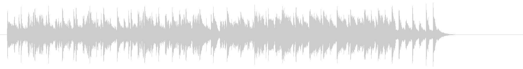 牧場のメルヘンなポップス(A~エンド)の未再生の波形
