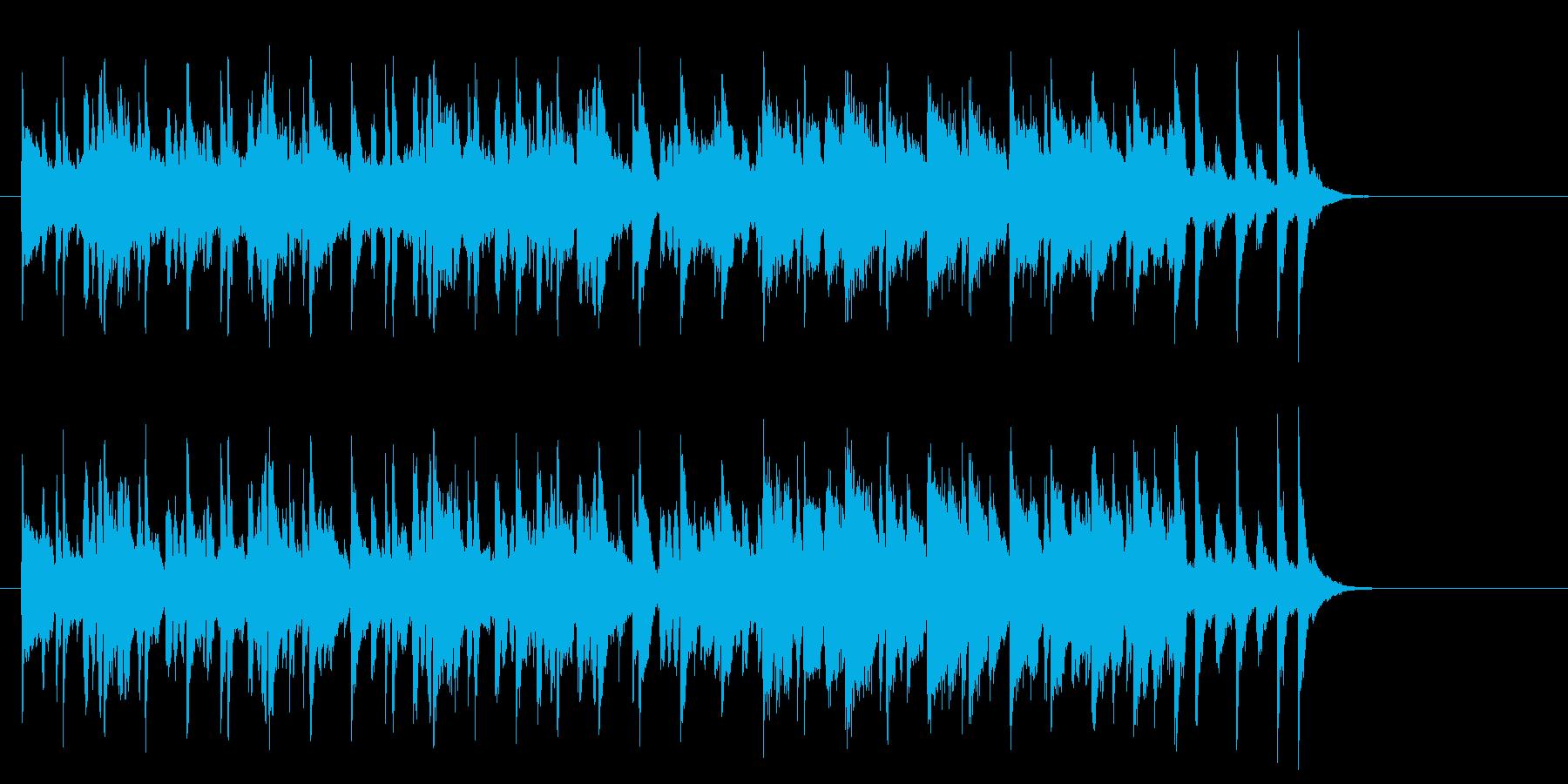 牧場のメルヘンなポップス(A~エンド)の再生済みの波形