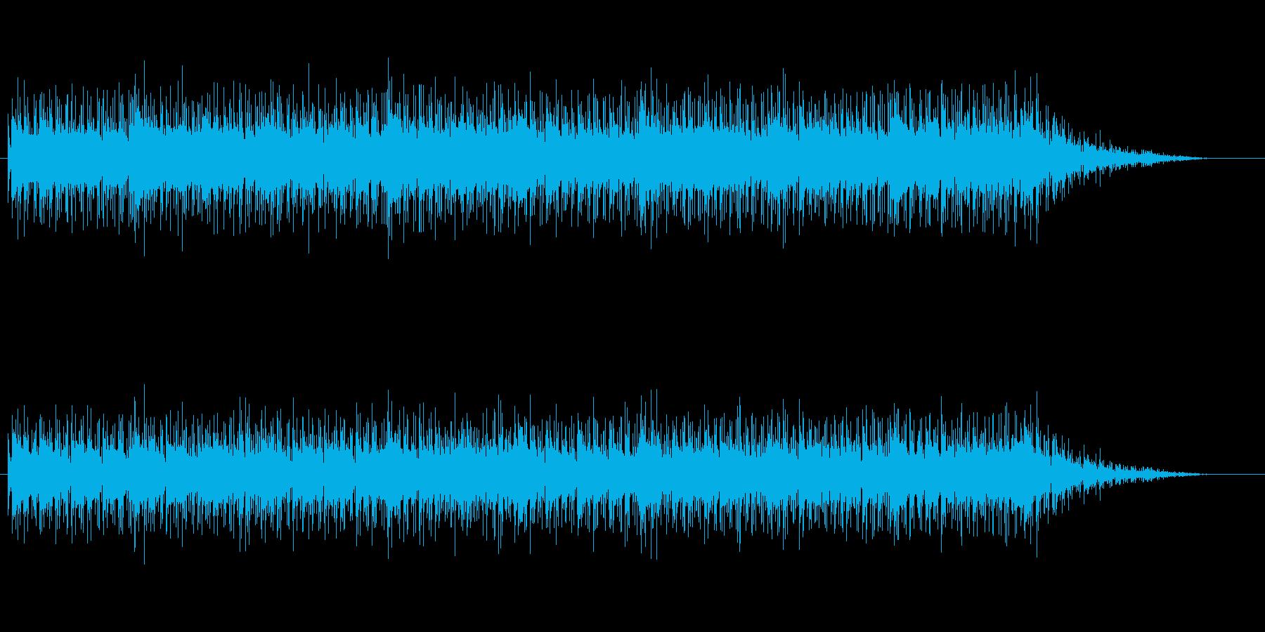 ほのぼのとしたサンバの再生済みの波形