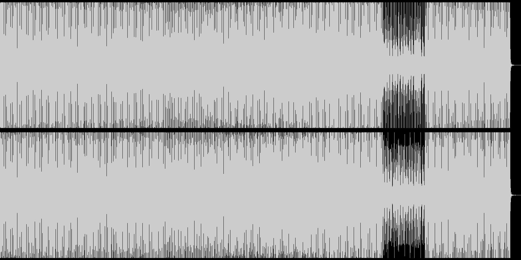 複雑に動くdeep minimalの未再生の波形