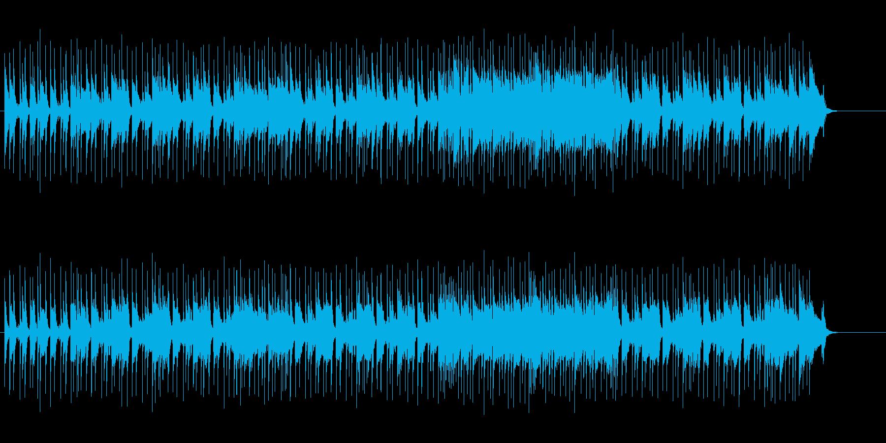 情緒あるライト&キュートなポップスの再生済みの波形