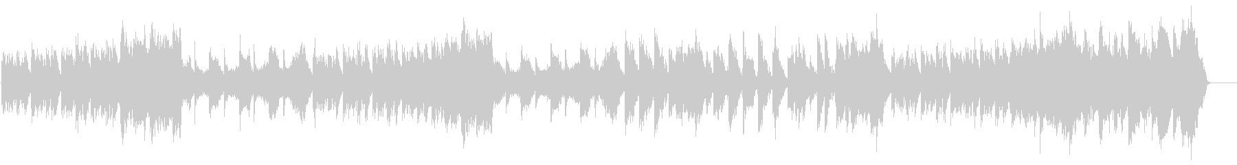 ニューエイジ系 ネイチャー・サウンドの未再生の波形