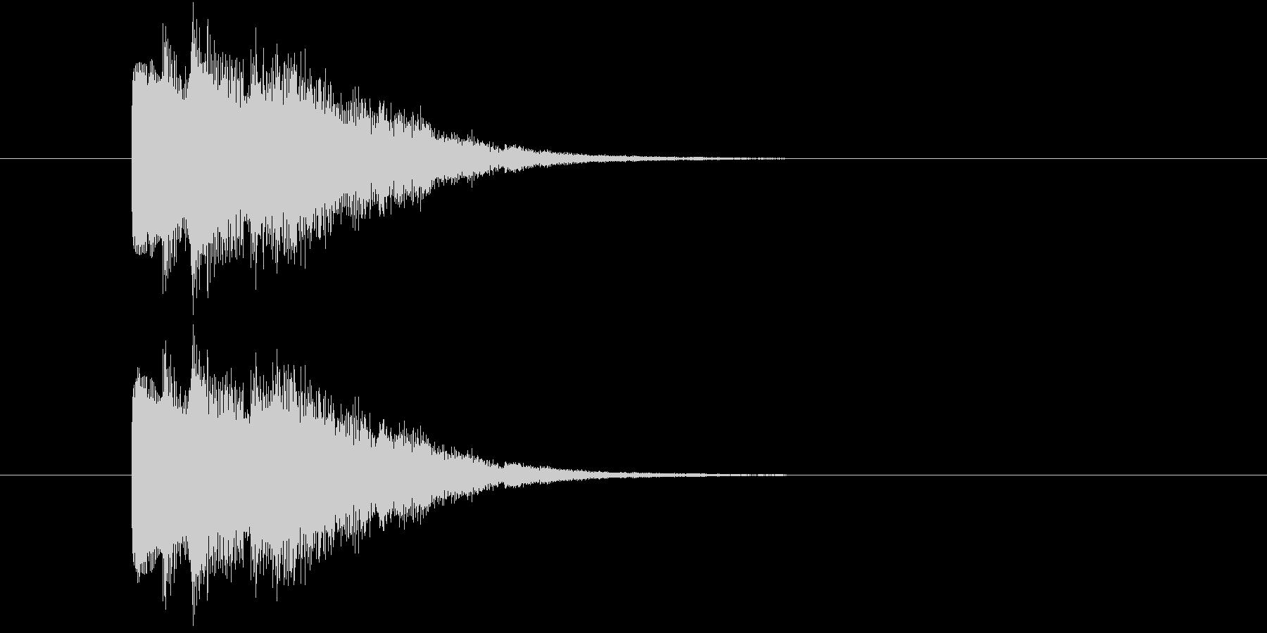 トゥルリリン(アイテム使用音)の未再生の波形