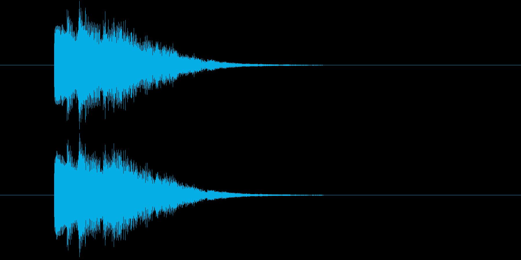トゥルリリン(アイテム使用音)の再生済みの波形