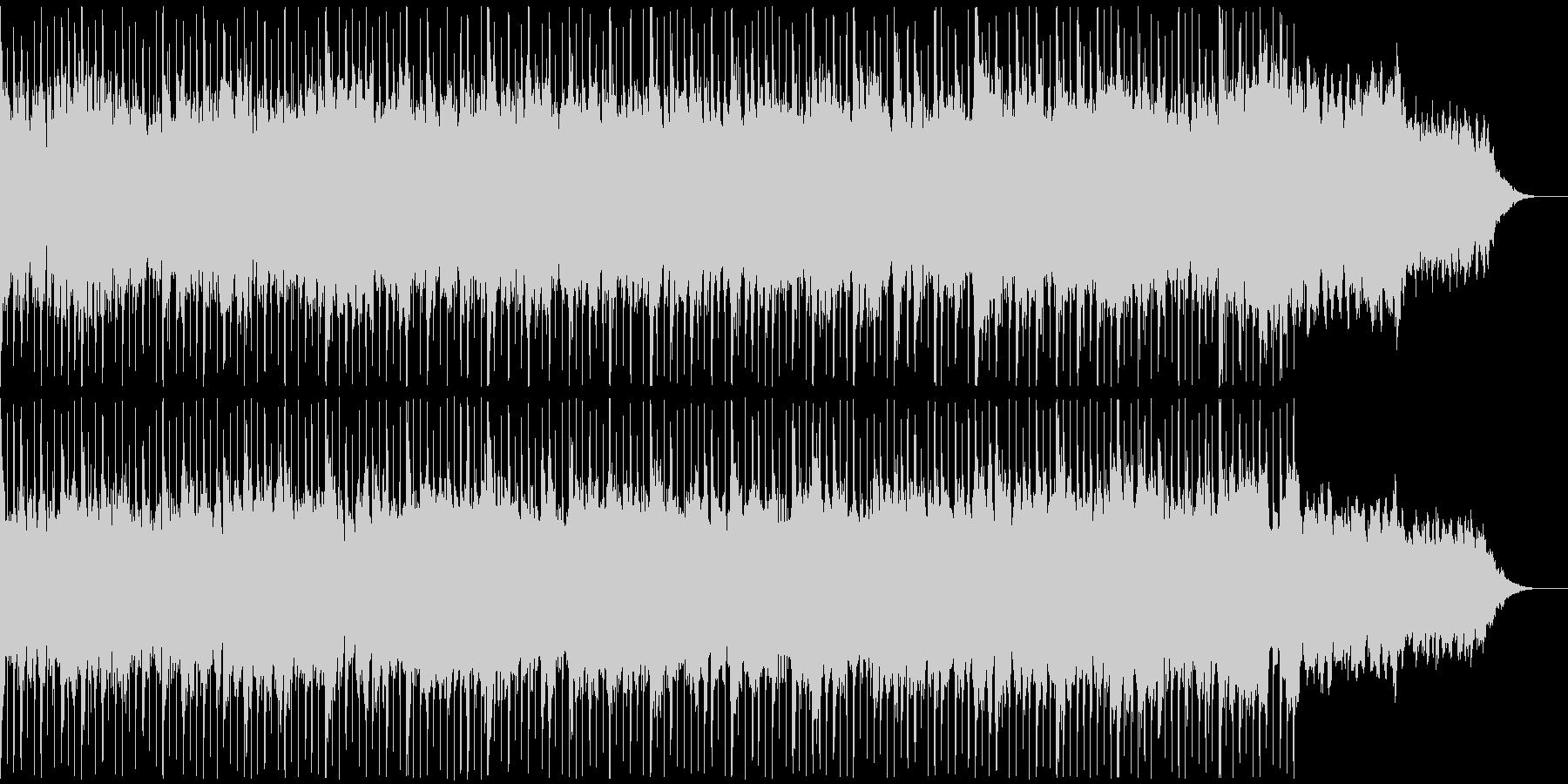感動表現、CM,ブライダル、クリスマスの未再生の波形