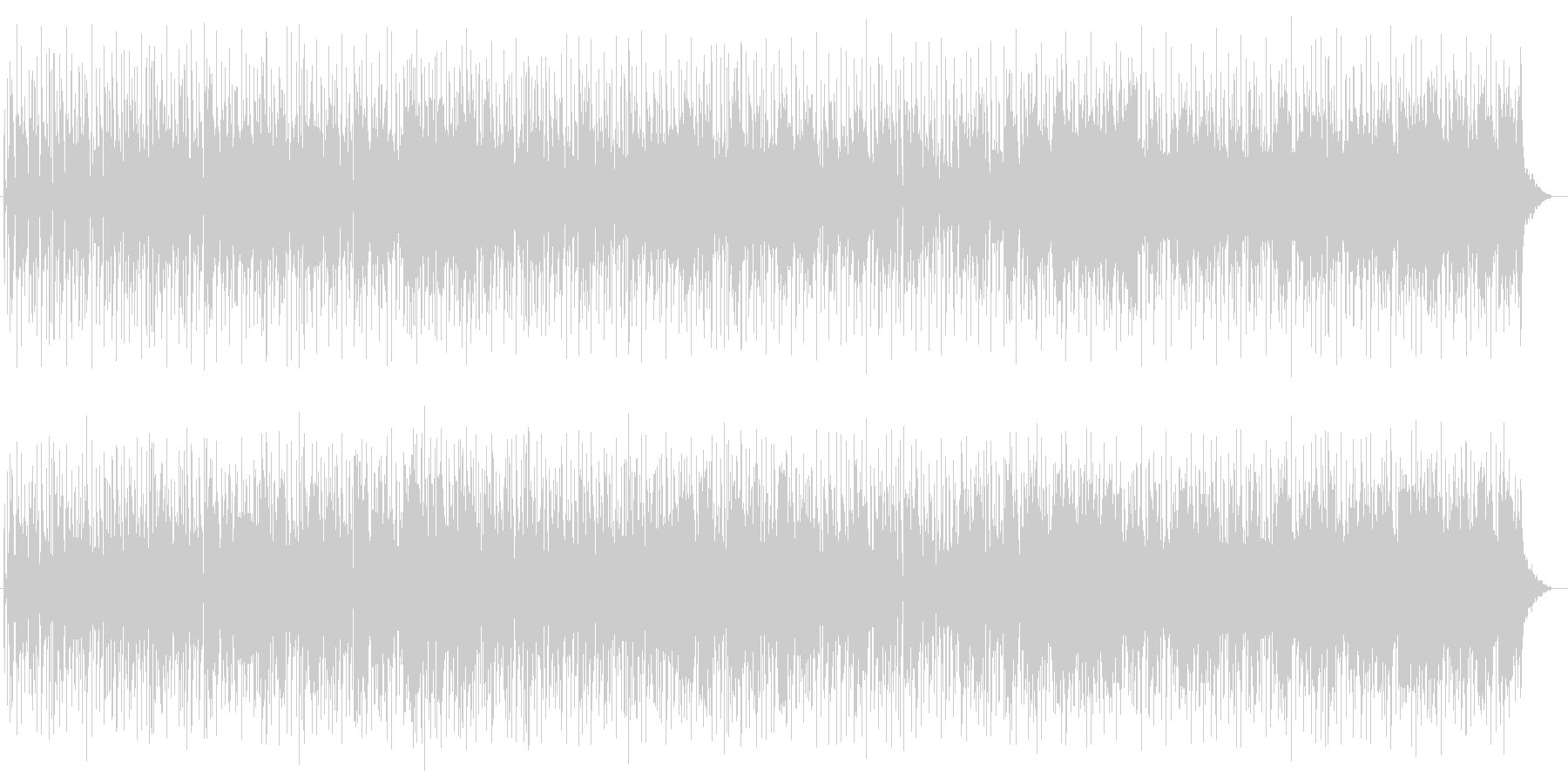 メローでメロディアスなエレキサウンドの未再生の波形