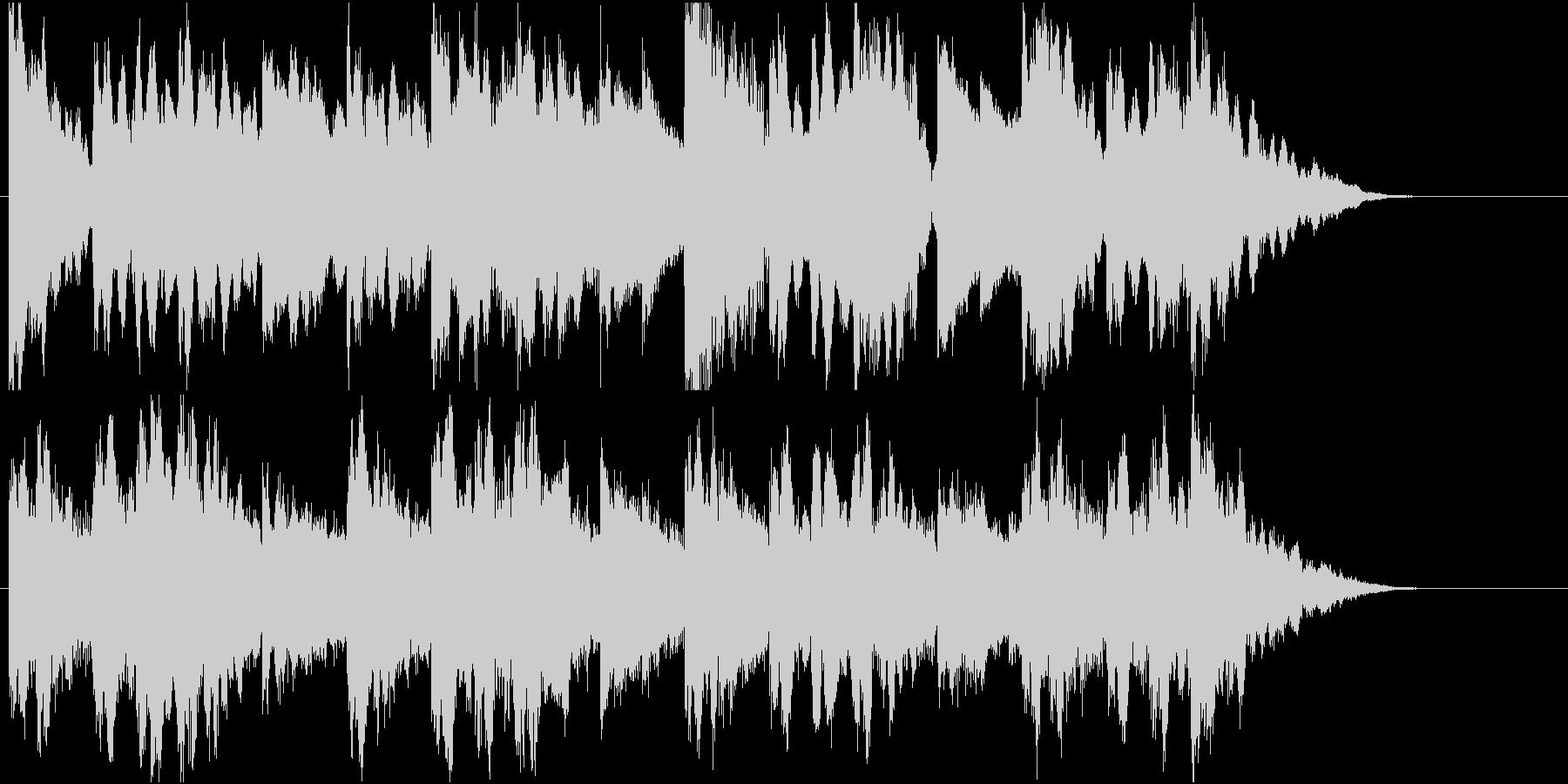 切ない雰囲気の曲/その2の未再生の波形