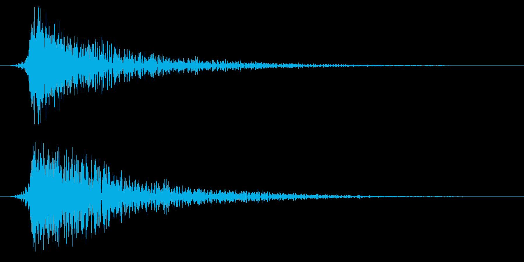 シネマティック ヒット インパクト11cの再生済みの波形