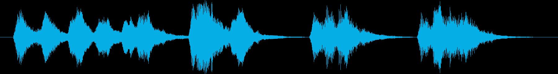 力強い弦楽器のジングル(場面転換)の再生済みの波形