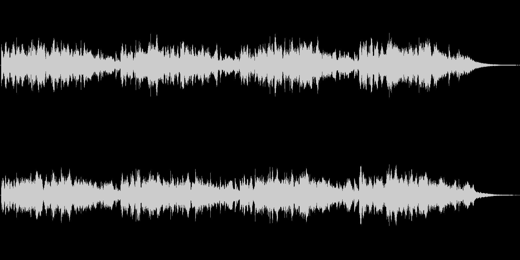 シンセによるメルヘンの世界的なジングル2の未再生の波形