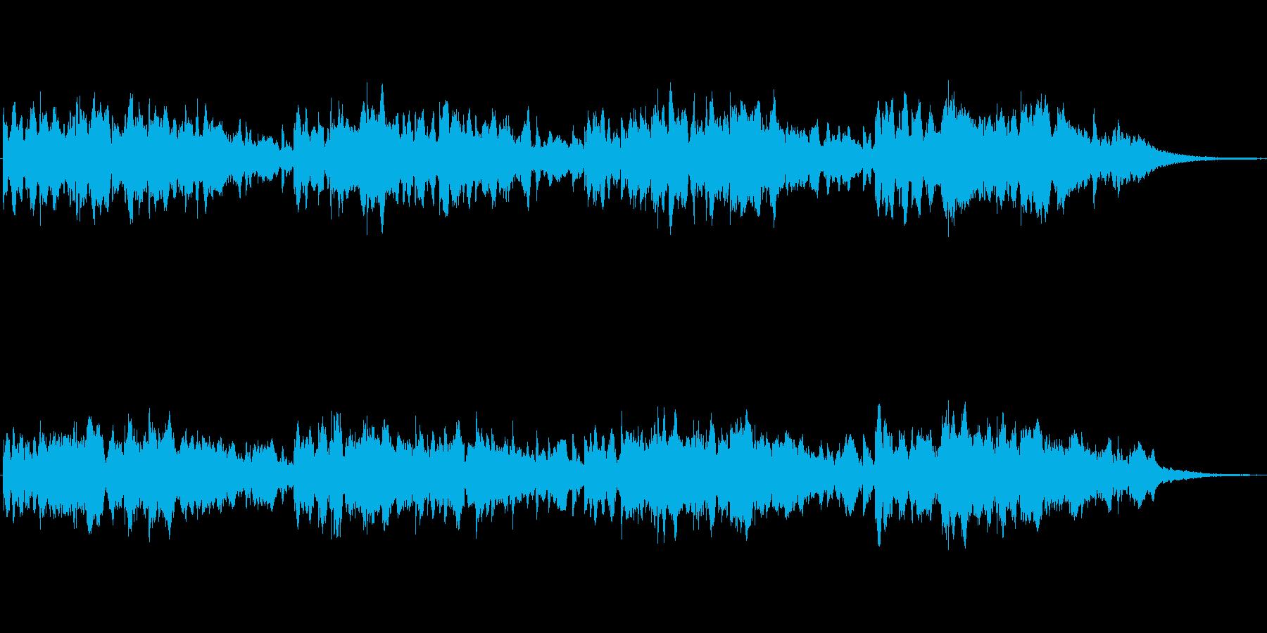 シンセによるメルヘンの世界的なジングル2の再生済みの波形