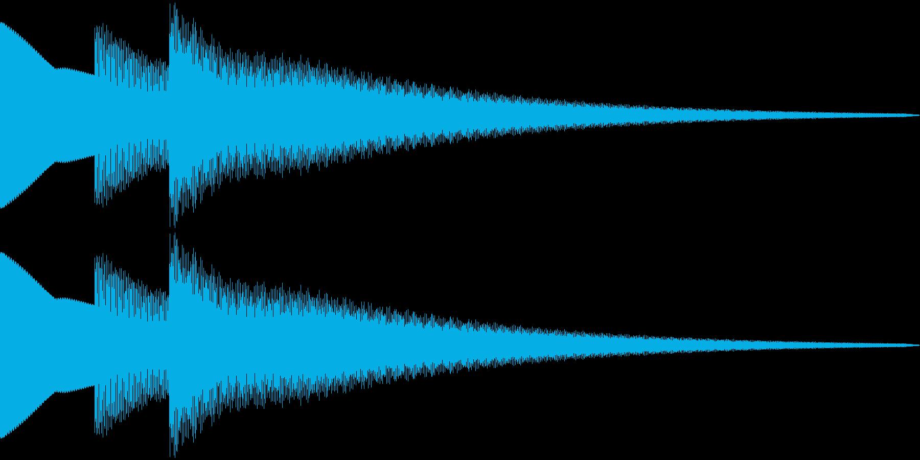 ティコリーン  (シンプル)の再生済みの波形
