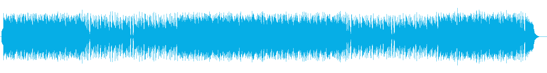 口笛を吹くように楽しいミュージックの再生済みの波形