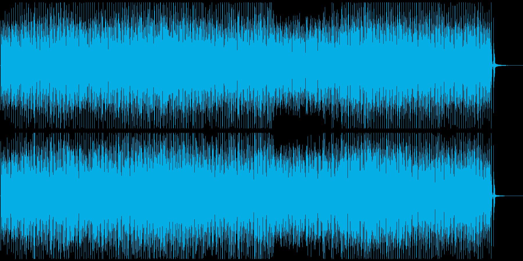 コミカル映像におしゃれで楽しいバンジョーの再生済みの波形