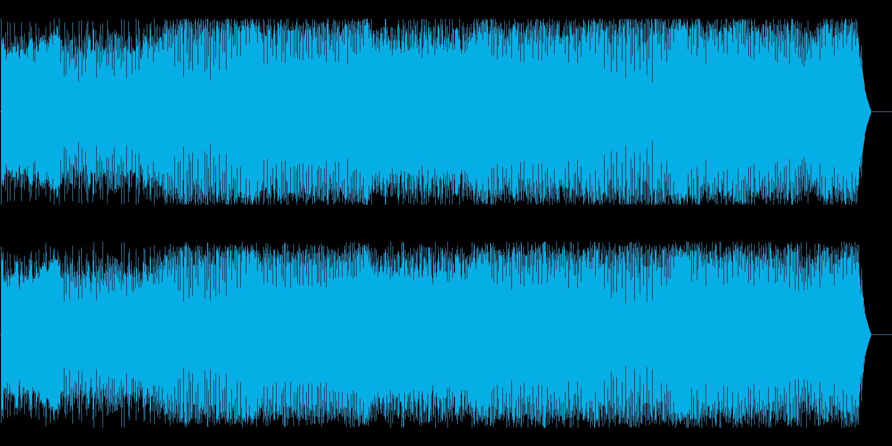 ディスコ 流行 おしゃれ スピード 躍動の再生済みの波形