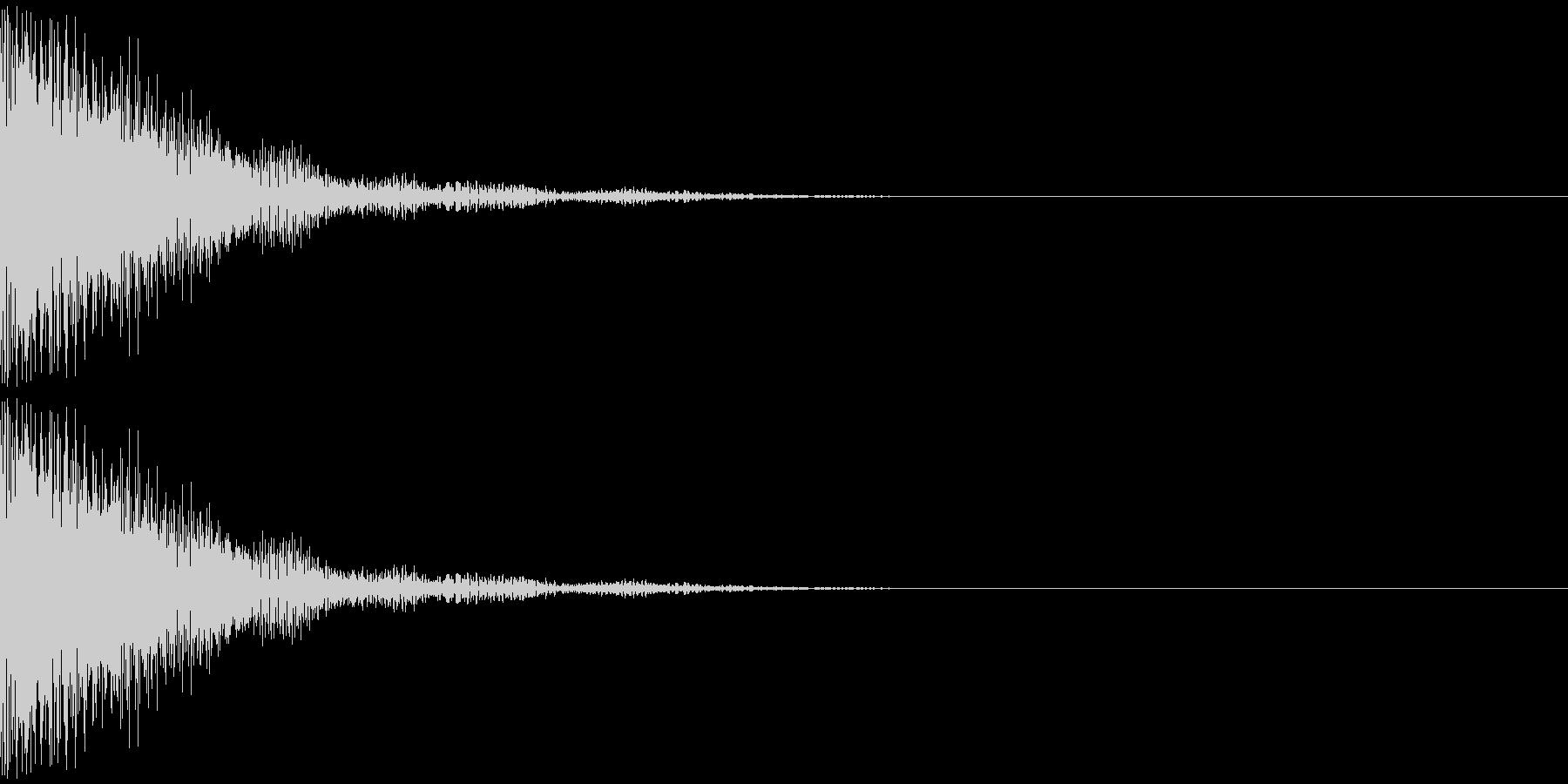 トゥインー(ドラ系)の未再生の波形