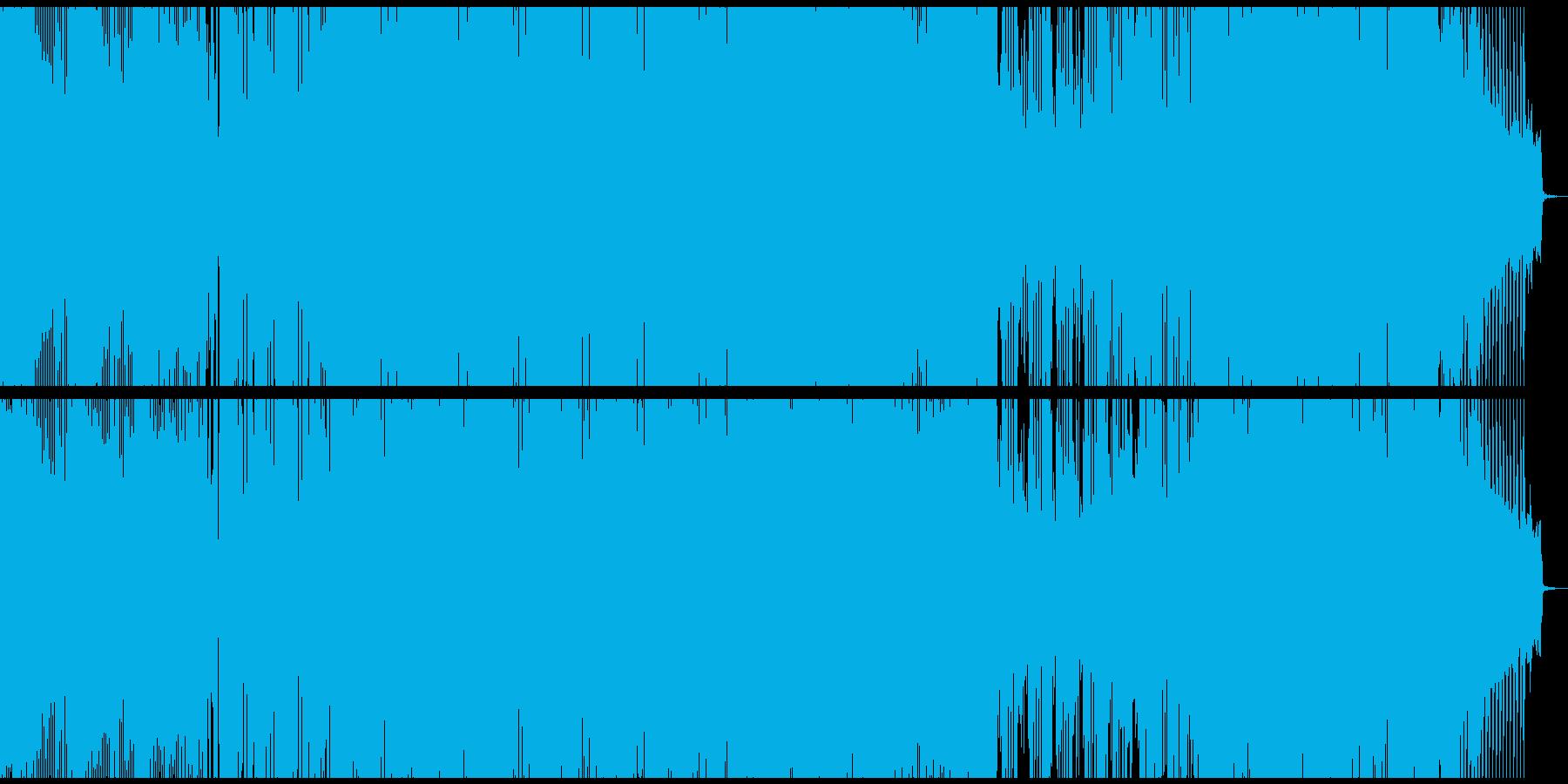 夜の幻想的なベルの再生済みの波形