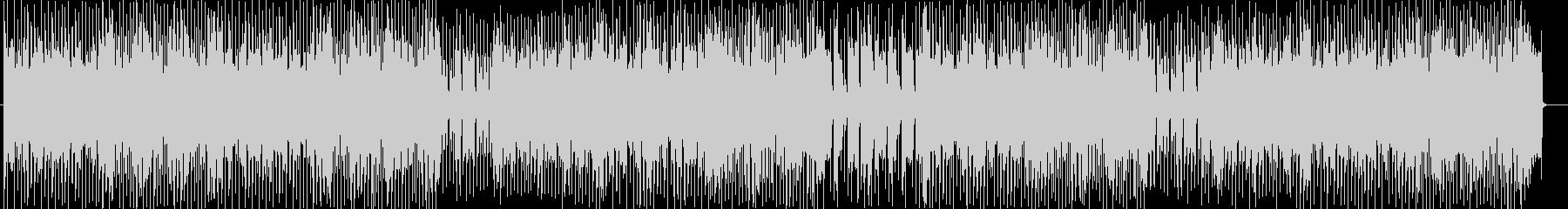 バトルゲームBGMテクノ風サウンドの未再生の波形