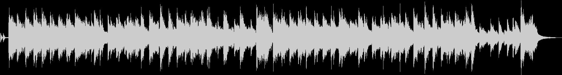 ハモンドオルガンが印象的なジャズジングルの未再生の波形