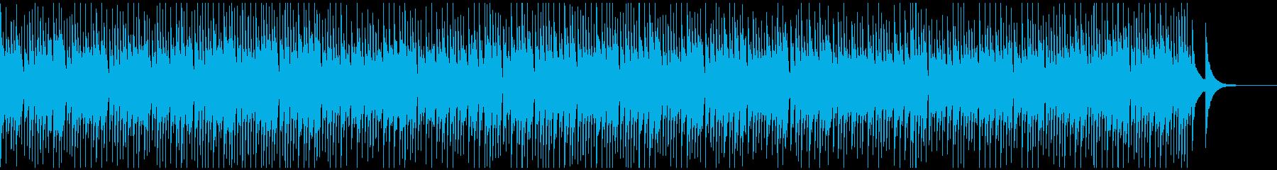 CMや映像に のんびり優しさがある空間像の再生済みの波形