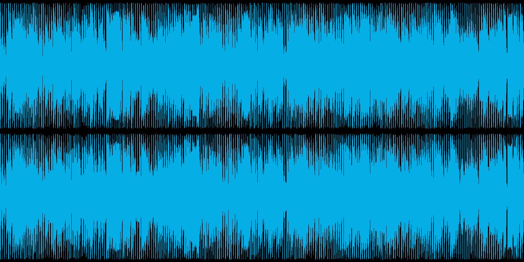 機械的はちゃめちゃビート・テクノループの再生済みの波形