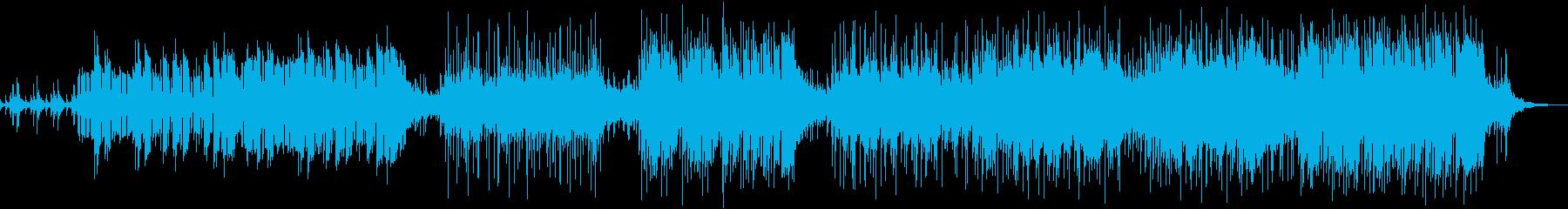 ルネッサンス民族音楽の再生済みの波形
