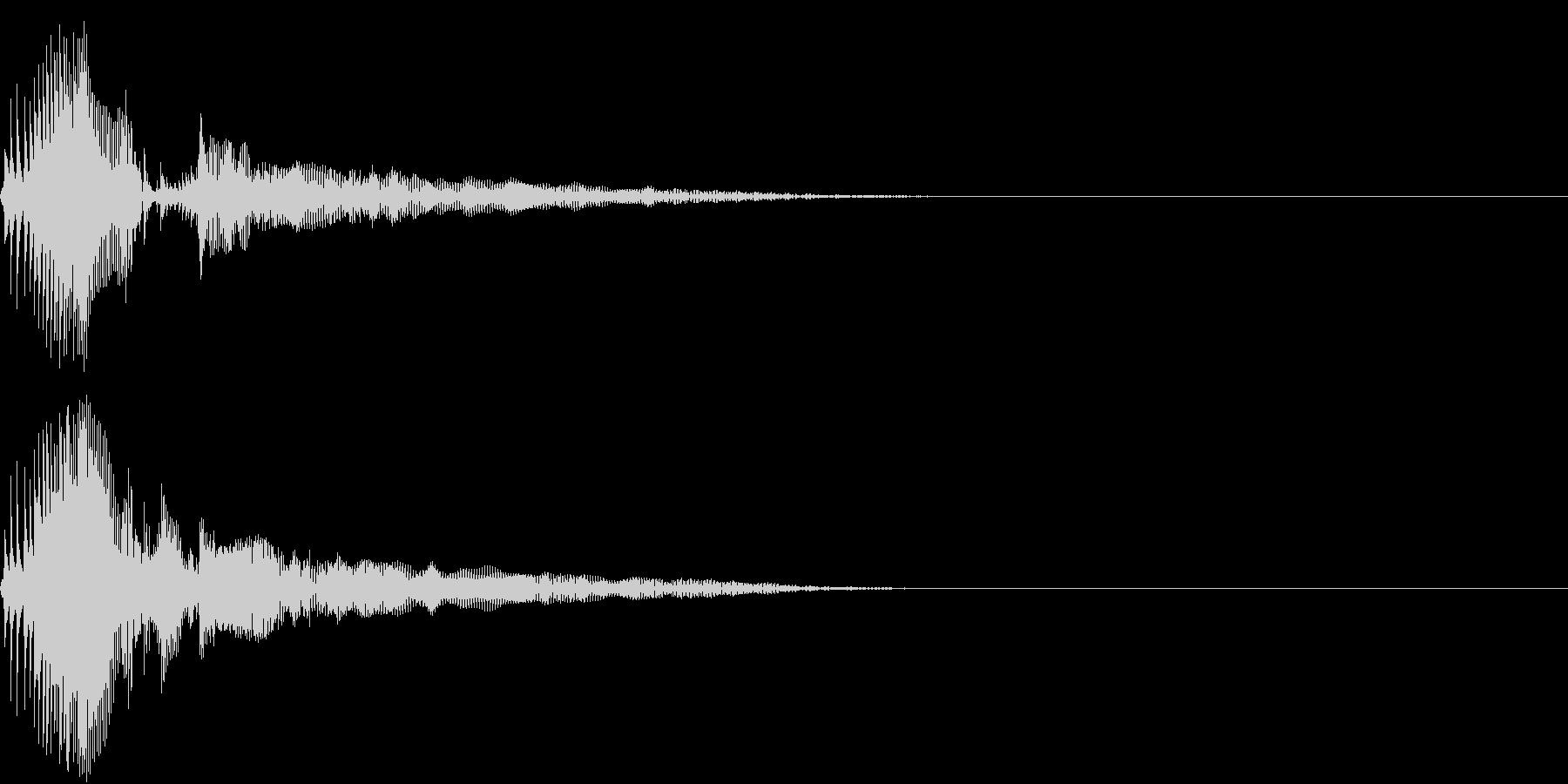 Zako ゲームのザコキャラの鳴き声 2の未再生の波形