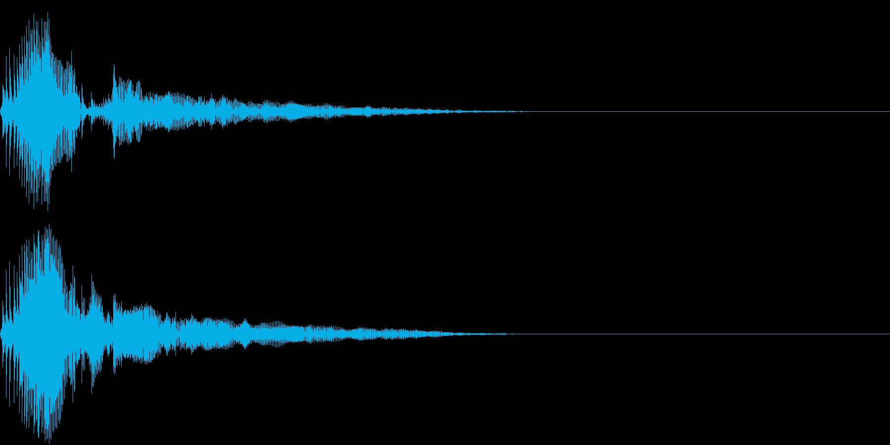 Zako ゲームのザコキャラの鳴き声 2の再生済みの波形