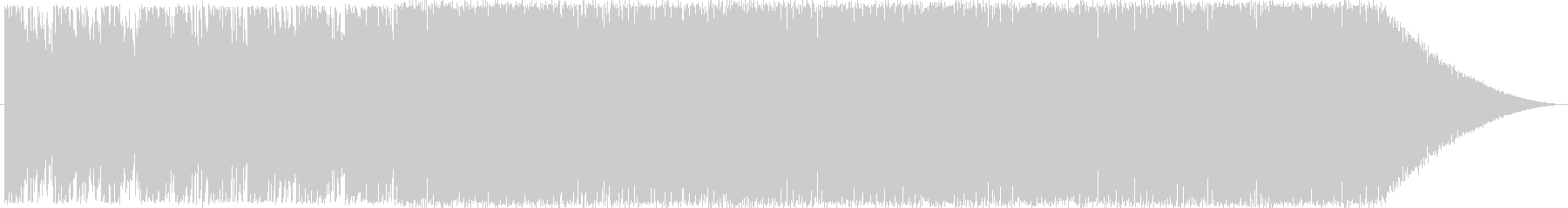 明るく前向きなイメージの曲です。の未再生の波形