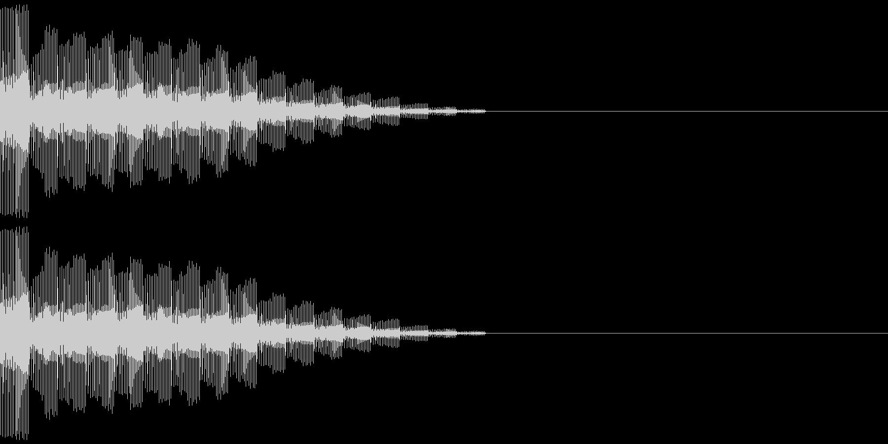 ピロロロロンの未再生の波形