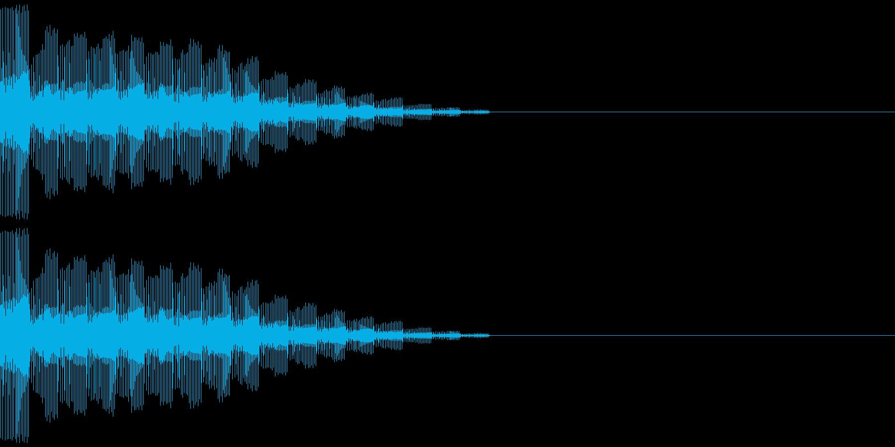 ピロロロロンの再生済みの波形