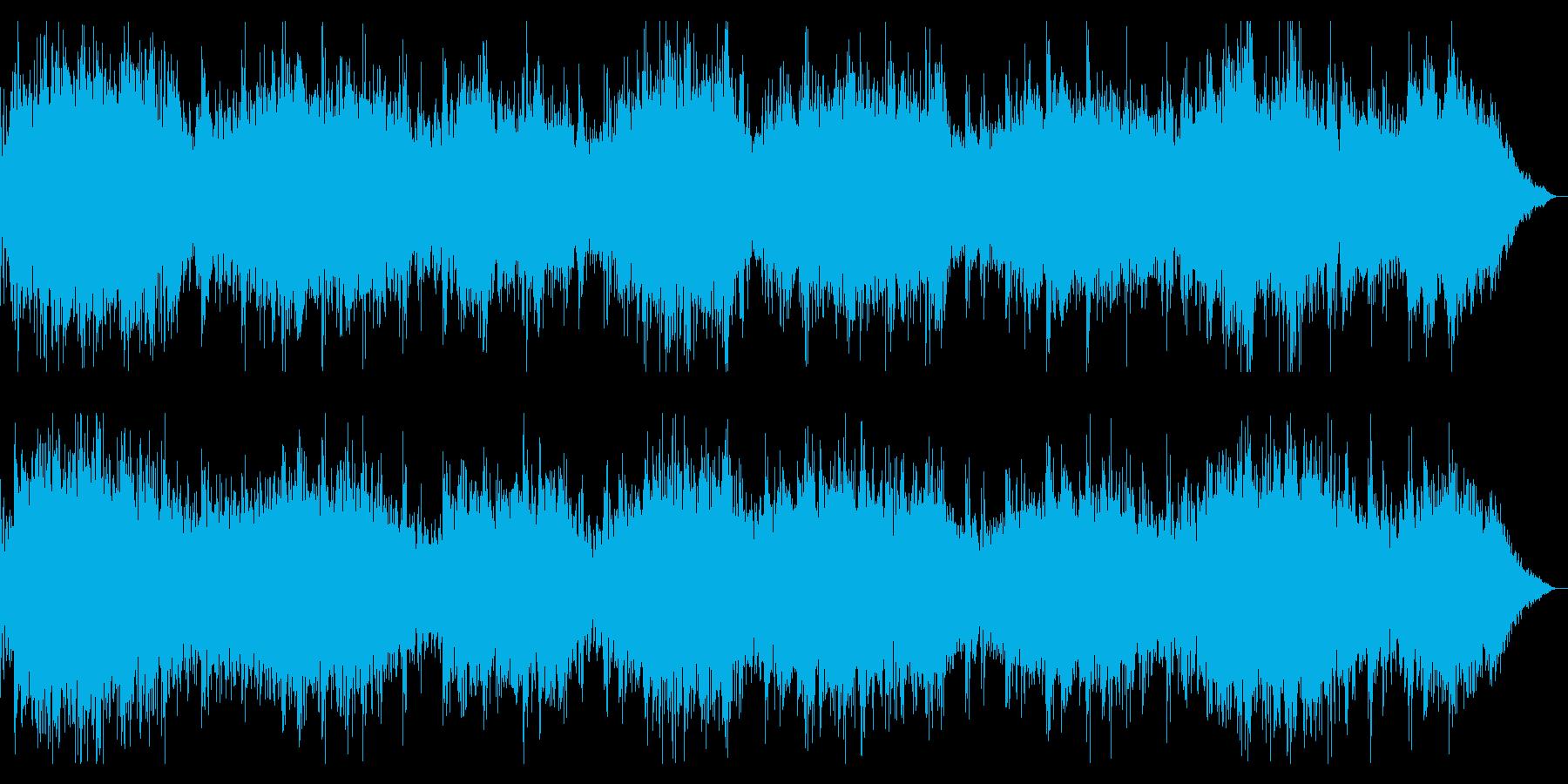 鼓動音を取り入れたダークアンビエントの再生済みの波形