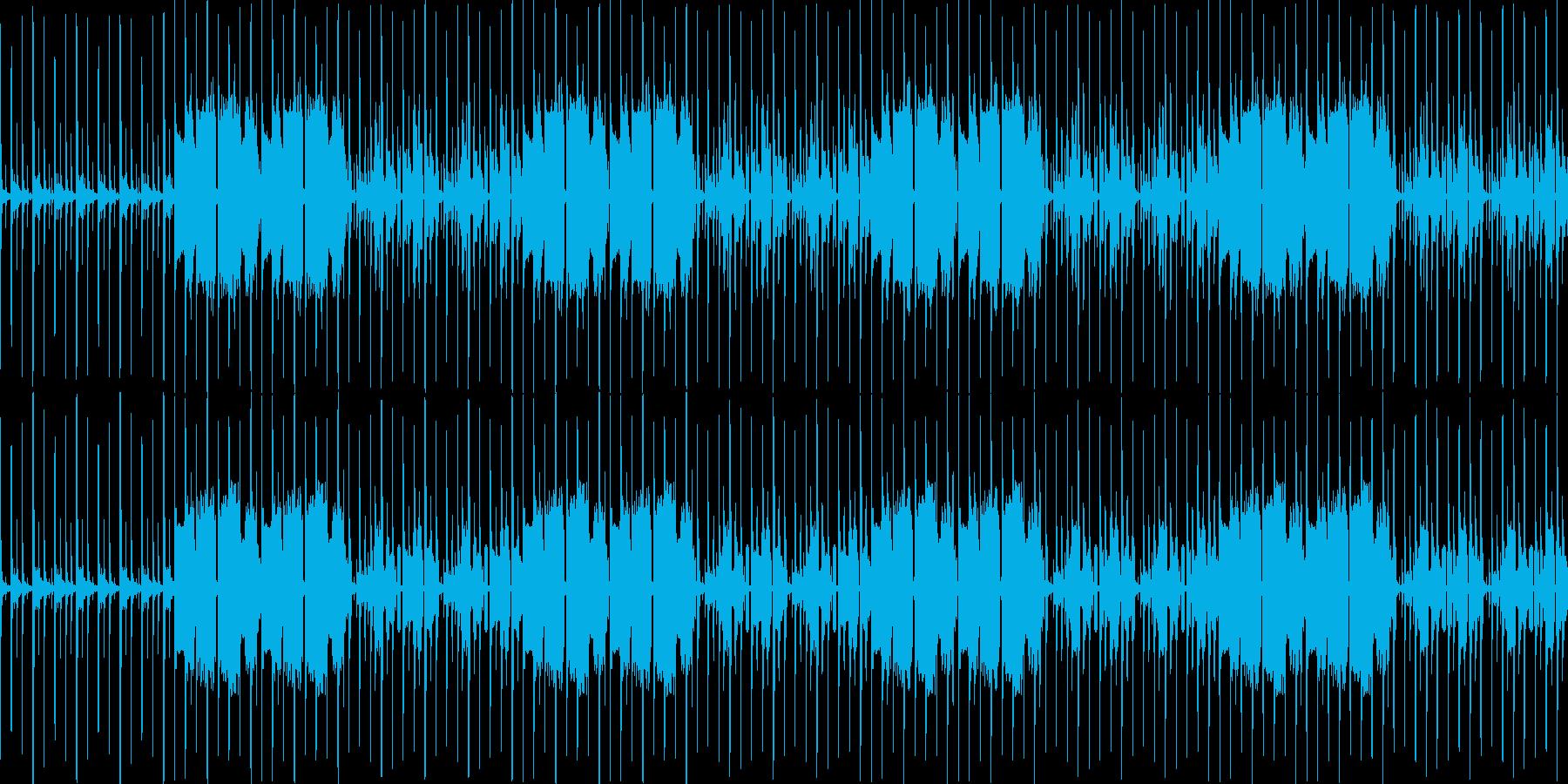 【のんびりとした雰囲気JAZZ】の再生済みの波形