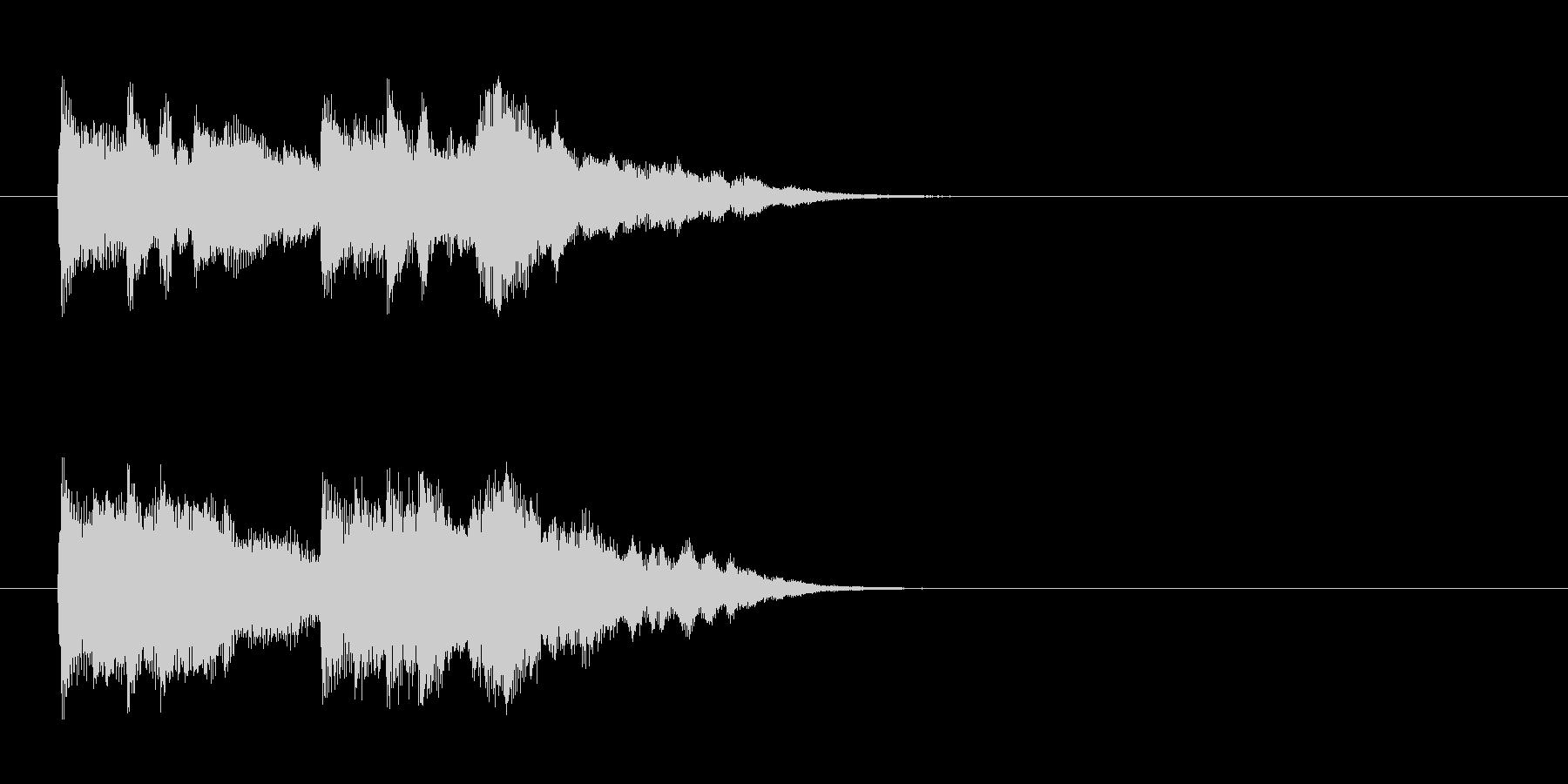 ジングル/環境(エンディング風)の未再生の波形